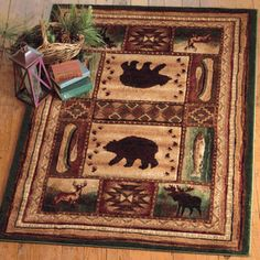 Bear Wilderness Rug Collection