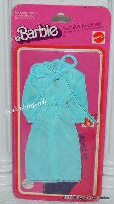 Barbie Best Buy Fashions/Collectibles/Fun/Favorites 1975 Blue Dress MIP #2556