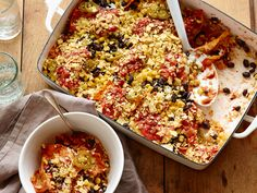 From the Pantry: Mexican Bean, Rice and Corn Bake Recipe : Food Network Kitchen : Food Network - FoodNetwork.com