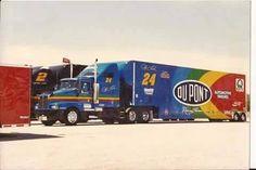 Old School Jeff Gordon hauler