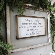 Family Signs Wood Signs Wooden Signs Entry Way Decor Black and White Signs Farmhouse Style Modern Farmhouse House of Jason Living Room Remodel, Living Room Decor, Living Rooms, Living Room Quotes, Living Area, Kitchen Remodel, Farmhouse Signs, Farmhouse Decor, Farmhouse Style
