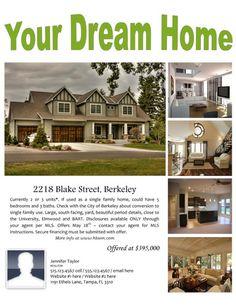 Image on Hloom.com  http://www.hloom.com/free-real-estate-flyers-for-selling-or-renting/