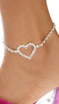 heart  Foot Jewelry