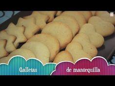 Galletas de mantequilla - Receta de la masa paso a paso - YouTube