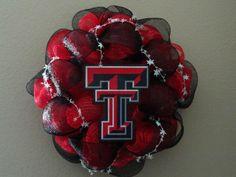 Texas Tech wreath, but mine will be TSU!