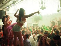 Just Dance! Skandinavian Bar Mykonos Generating Party Memories.