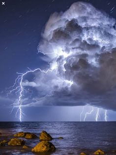Magnificent blue thunder clouds with lightning strikes Beautiful Planet earth cloud formation and storms Beautiful Sky, Beautiful World, Beautiful Landscapes, Amazing Photography, Landscape Photography, Nature Photography, Photography Tips, Portrait Photography, Wedding Photography