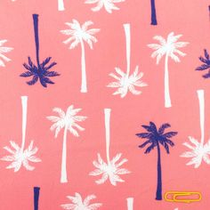 Tissu Palmier / Palm tree fabric / Tropical fabric / Tissu tropical / exotic fabric /