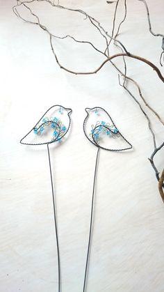 Ptáček tyrkysový- zápich