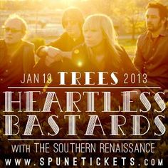 January 19 @ Trees - Spune presents Heartless Bastards | The Southern Renaissance