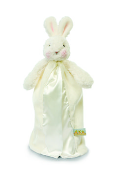 """Mermaids by the Sea Toys - Bunnies by the Bay """"White Bye Bye Buddies-Travel Size with Security Loop-Baby White"""" 151100, $16.00 (http://www.mermaidsbytheseatoys.com/bunnies-by-the-bay-white-bye-bye-buddies-travel-size-with-security-loop-baby-blue-151100/)"""