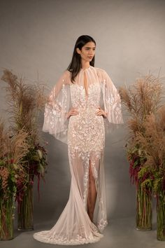 The story so far about Hermione de Paula's ready to wear collections, collaborations, wedding dresses, bridal lingerie, swimwear and wedding outfits. Hermione, Cape Gown, Bridal Cape, Floral Gown, Bridal Stores, Bridal Lingerie, Couture Dresses, Special Occasion Dresses, Formal Dresses