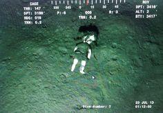 doll Found 85 miles offshore, 3200 feet underwater.