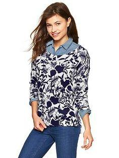Floral sweater | Gap