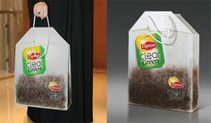 #lipton #tea #teabag #marketing #advertising #ads #case #cover #design #bag