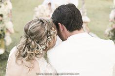 Peinado de novia recogido Hairstyle Bridal wedding - Boda