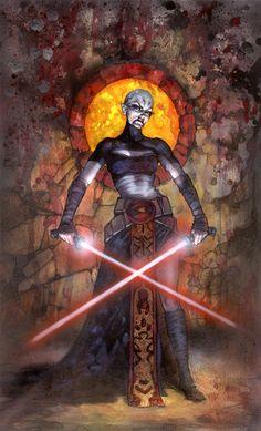 Fantastic Star Wars Illustrations by Terese Nielsen