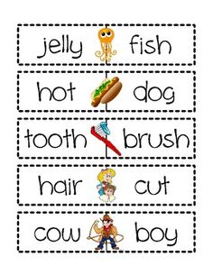 Compound Words Literacy Centres - Samantha Nowak - TeachersPayTeachers.com