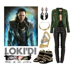 Designer Clothes, Shoes & Bags for Women Lady Loki Cosplay, Loki Costume, Marvel Inspired Outfits, Character Inspired Outfits, Casual Cosplay, Cosplay Outfits, Gothic Outfits, Modern Outfits, Supernatural Inspired Outfits