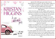 Notre Carnet de Lecture: A un détail près - Kristan Higgins