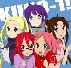 Aww, Hinata Hyuga, Tenten,Sakura Haruno, Ino Yamanaka e Karin Anime Naruto, Naruto Funny, Naruto Girls, Chica Anime Manga, Naruto Shippuden Anime, Hinata Hyuga, Boruto, Naruhina, Sasuke Sakura