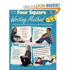 Four Square Writing Method: A Unique Approach to Teaching Basic Writing Skills for Grades Narrative Writing, Writing Skills, Short Stories For Students, Four Square Writing, Types Of Essay, Grammar Check, Essay Prompts, Thesis Statement, Research Paper