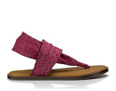 ad6cda1a01aca Sanuk Women s Yoga Devine Sandals Dusty Boysenberry 10 and Shoe Cleaner  Bundle -- Wow!