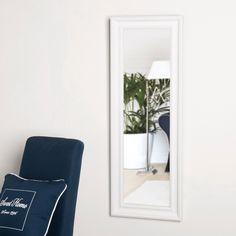 Miroir Elianne blanc 124x44