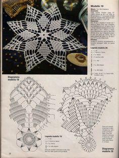 ergahandmade: Crochet Top + Diagrams na Stylowi. Irish Crochet Patterns, Crochet Doily Diagram, Crochet Mandala, Freeform Crochet, Thread Crochet, Filet Crochet, Crochet Motif, Crochet Designs, Crochet Dollies