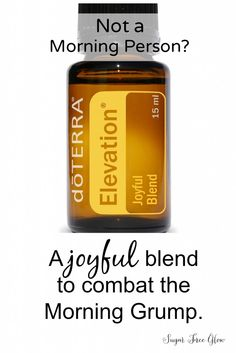 This oils saves the day with my daughter who is GRUMPY in the morning!