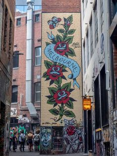 This guide to Melbourne street art goes way beyond the obvious spots. Explore Melbourne& best graffiti and murals in three different neighborhoods. Street Art Melbourne, Melbourne Graffiti, New York Graffiti, Banksy Graffiti, Best Graffiti, Graffiti Artwork, Graffiti Wallpaper, Melbourne Trip, Graffiti Quotes