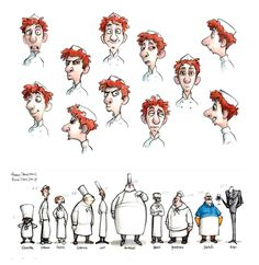 by Jason Deamer of Pixar ✤ || CHARACTER DESIGN REFERENCES | キャラクターデザイン • Find more at https://www.facebook.com/CharacterDesignReferences if you're looking for: #lineart #art #character #design #illustration #expressions #best #animation #drawing #archive #library #reference #anatomy #traditional #sketch #development #artist #pose #settei #gestures #how #to #tutorial #conceptart #modelsheet #cartoon #man #men #male #boy || ✤