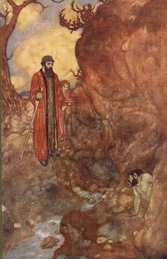 Caliban: Would´st give me, Water with berries in´t - Shakespear's Comedy of The Tempest, 1908