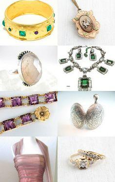 Fine #vintage #jewelry from #VogueTeam