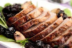 Receita de Lombo de porco com calda de ameixa em receitas de carnes, veja essa e outras receitas aqui!