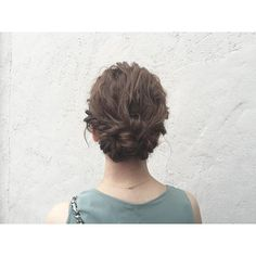 @abusapartment - ヘアセット♡#ヘアセット#ヘアアレンジ#ボブアレンジ#結婚式ヘアアレンジ#hair#h... - Pikore