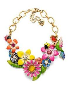 Even more Betsey Johnson  Google Image Result for http://cn1.kaboodle.com/img/b/0/0/139/e/AAAACzEIDWwAAAAAATnsHw/betsey-johnson-necklace-multicolor-flower-and-bird.jpg%3Fv%3D1300234768000