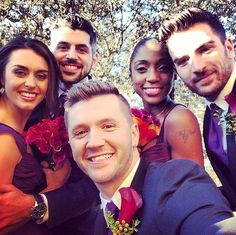 It was basically the best wedding ever and the most SYTYCD thing that ever happened.