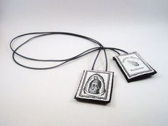 The Scapular of Santa Muerte by MeatRiot on Etsy