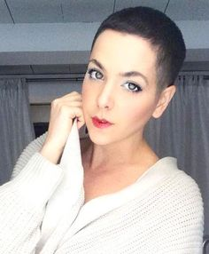 Rate her look from Really Short Hair, Short Dark Hair, Super Short Hair, Short Hair Cuts, Short Hair Styles, Pixie Cuts, Funky Short Haircuts, Short Hairstyles For Women, Girl Hairstyles