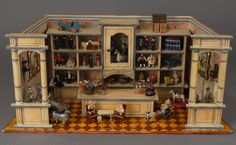 Fabulous Toy Store Roombox, from Carmel Doll Shop.