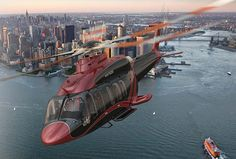 The Bell 525 Relentless helicopter, now in development, will feature a variety of amazing interiors and a fly-by-wire cockpit. The Bell 525 Helicopter will have… Helicopter Private, Helicopter Charter, Best Helicopter, Luxury Helicopter, New Retro Wave, Retro Waves, Aviation News, Aviation Art, Adventure 4x4