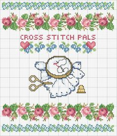 Schema punto croce Cross-stitch