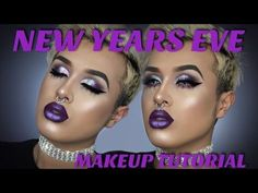 New Years Eve Glam Makeup Tutorial | Morphine Love Makeup - YouTube
