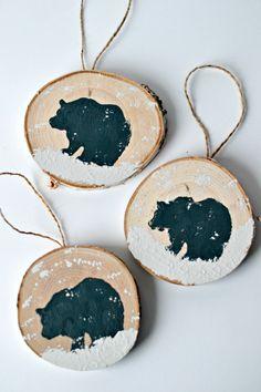 The Life of Jennifer Dawn: DIY Wood Slice Ornament