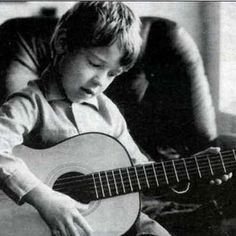Russell Crowe as a child