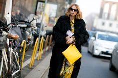 Pin for Later: Les Meilleurs Looks Street Style de la Fashion Week de Milan Jour 1 Candela Novembre.