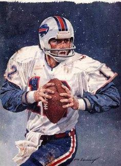 Joe Furguson Buffalo Bills Rare Art Print http://clektr.com/zkY