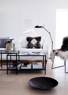 En liten sneak peek och ett nytt soffbord | Helt enkelt