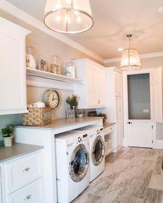 "dd92c5e021d Interior Design   Home Decor on Instagram  ""Such a lovely laundry room! By  Artisan Design Studio"""